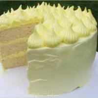 Lemon Sour Cream Cake