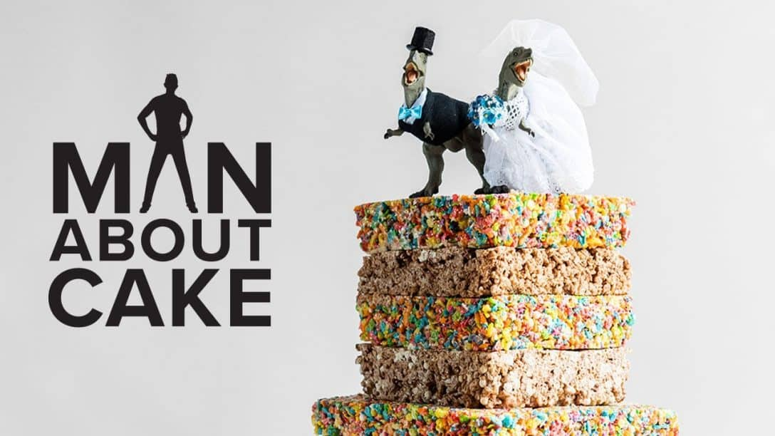 JJR's Cereal Treat Wedding Cake | Man...