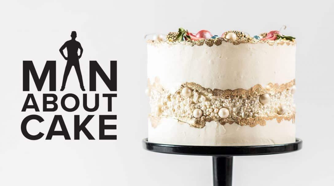 JJR's Fancy Fault Line Wedding Cake | Man...