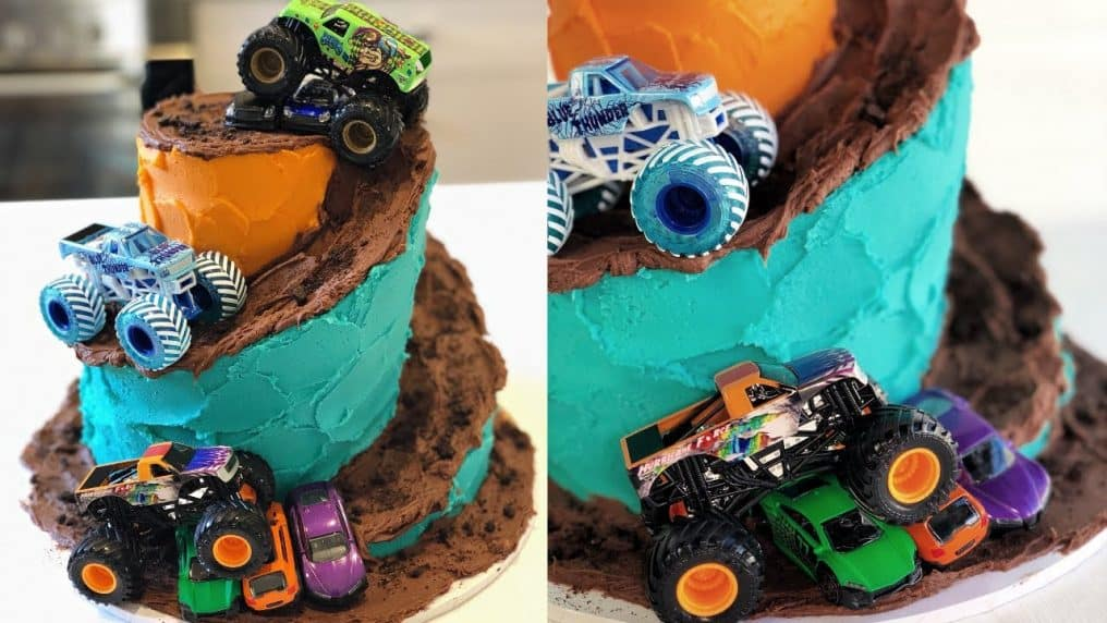 Awesome Monster Truck Cake! - CAKE STYLE