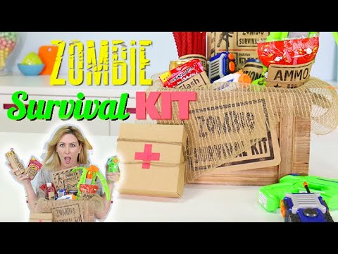 CANDY Zombie Survival Kit - Halloween Trick...
