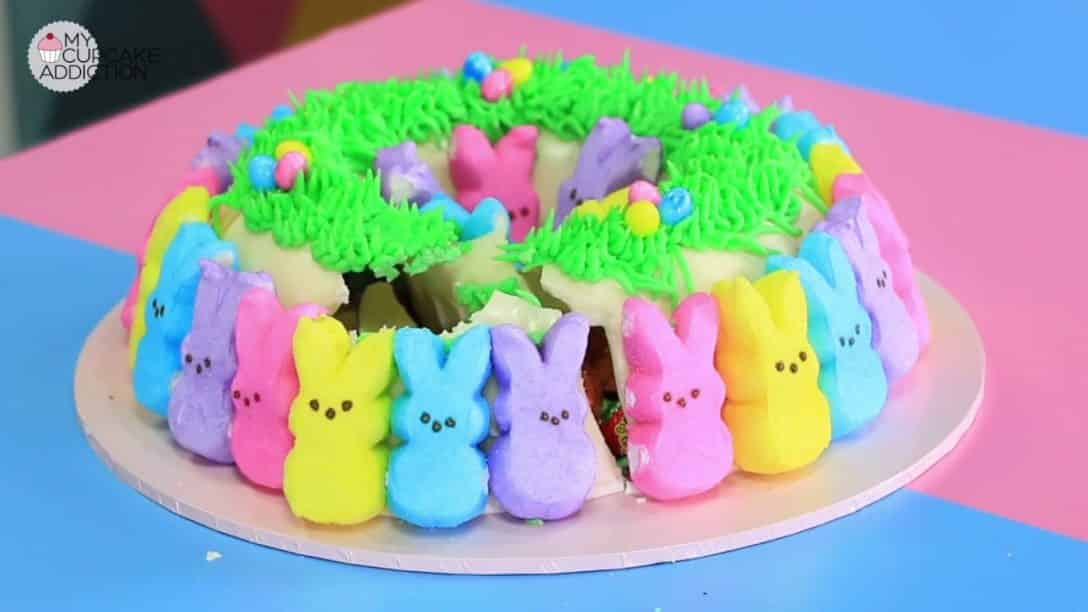 Easy Easter Cake Recipe No Bake PEEPS Smash...