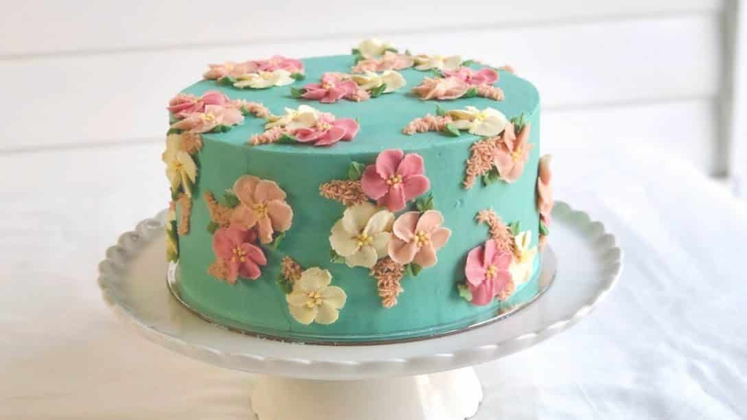 Gorgeous Floral Blossom Cake!