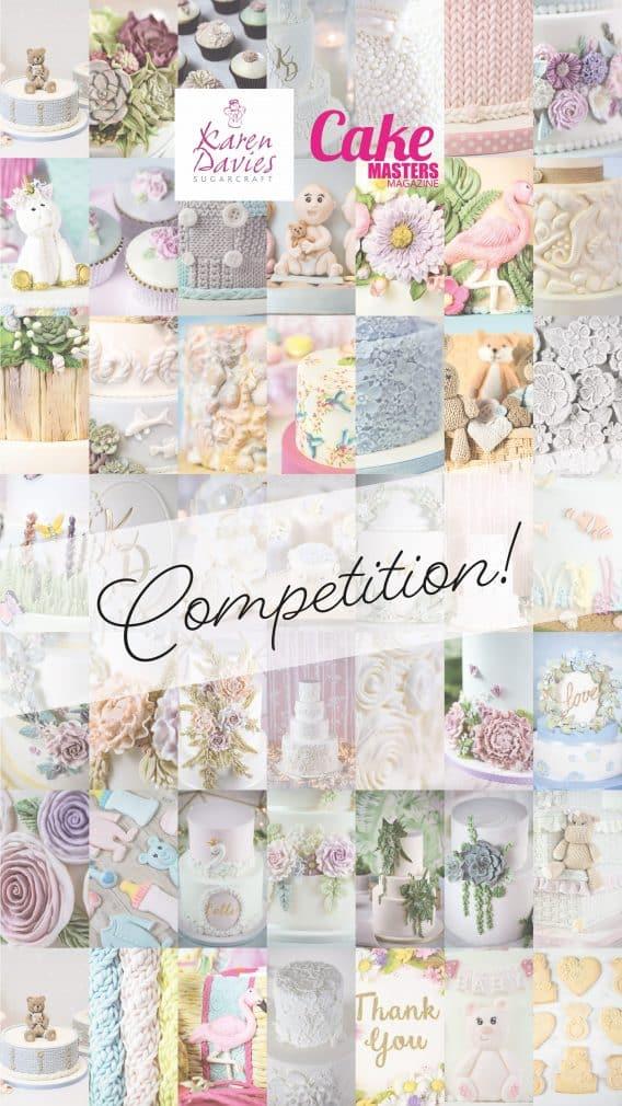 Karen Davies Sugarcraft Competition!
