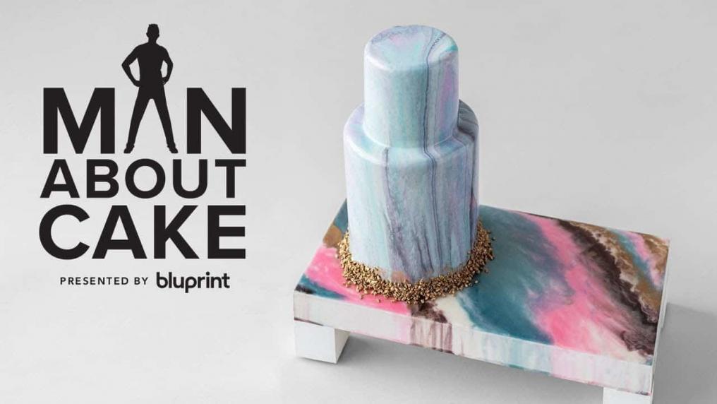 Marble Cake Stand + Mirror Glaze Cake | Man...