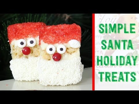 Really Simple Christmas Treats with Rice...
