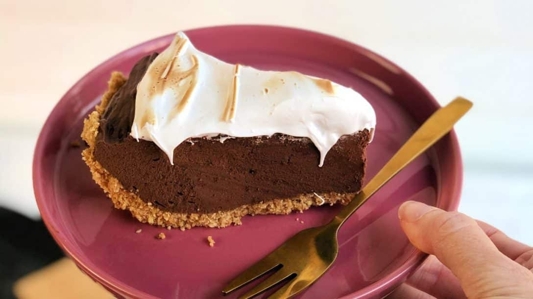 S'mores Pie Recipe