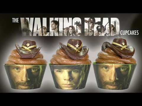 The Walking Dead Cupcakes  How to make...