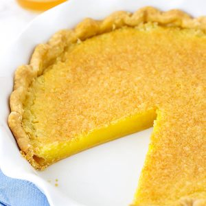 pinterest image for vinegar pie