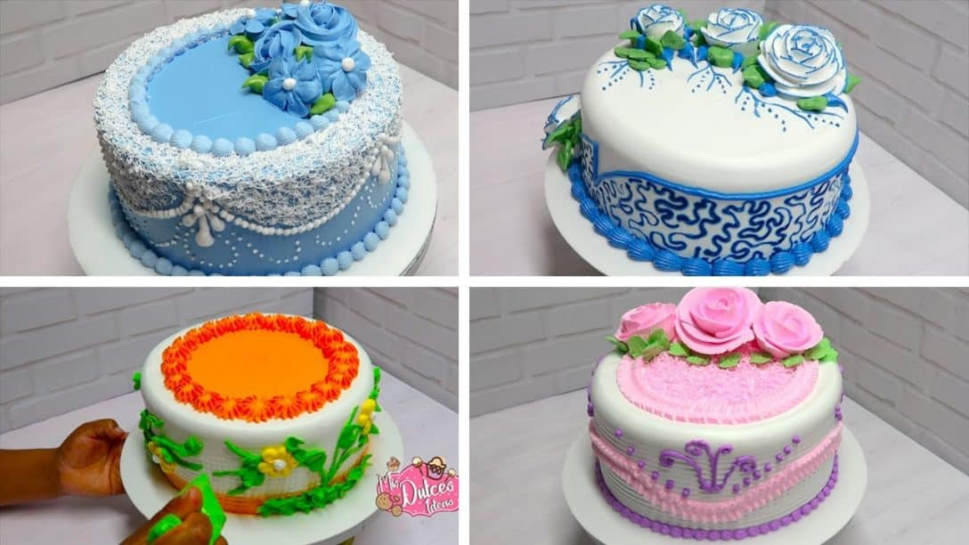 Cake decorating ideas compilation satisfying...