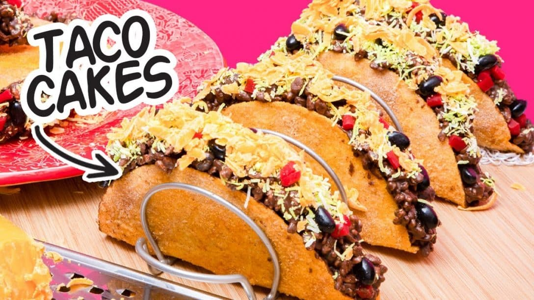 Can You Believe It's Cake??   Tacos Made...
