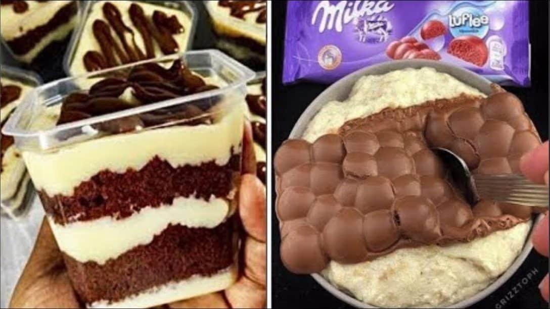 Easy Chocolate Cake Decorating Ideas   Yummy...