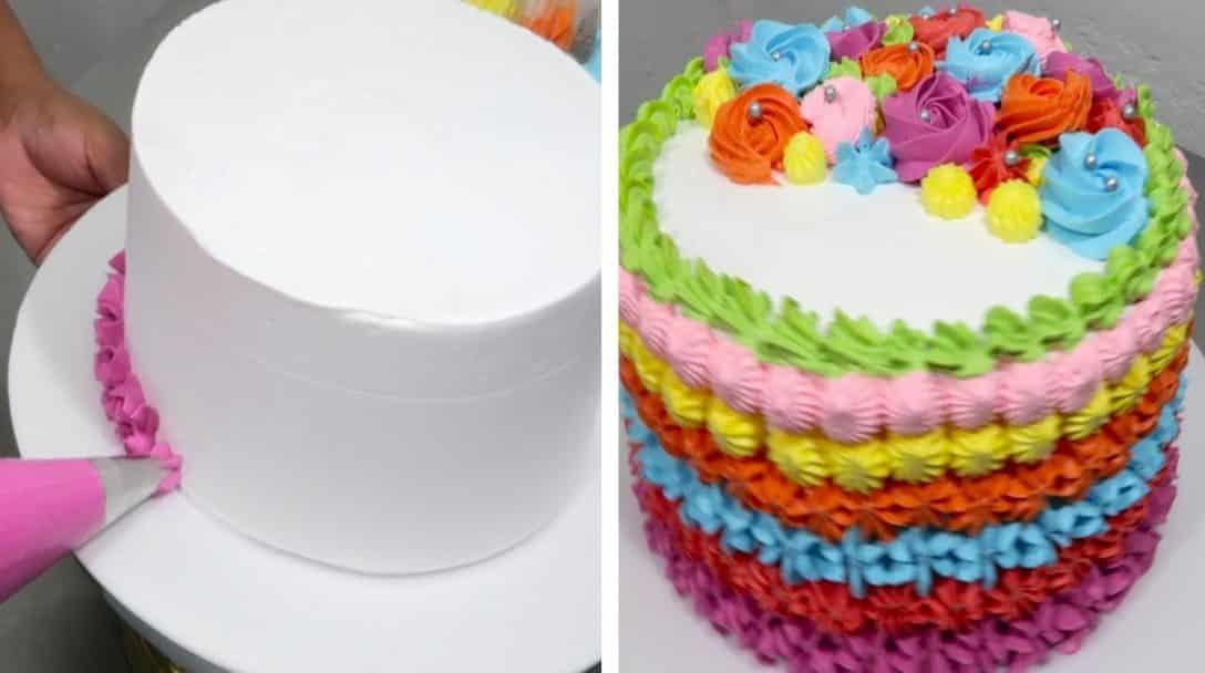 Easy cake decorating ideas for birthday |...