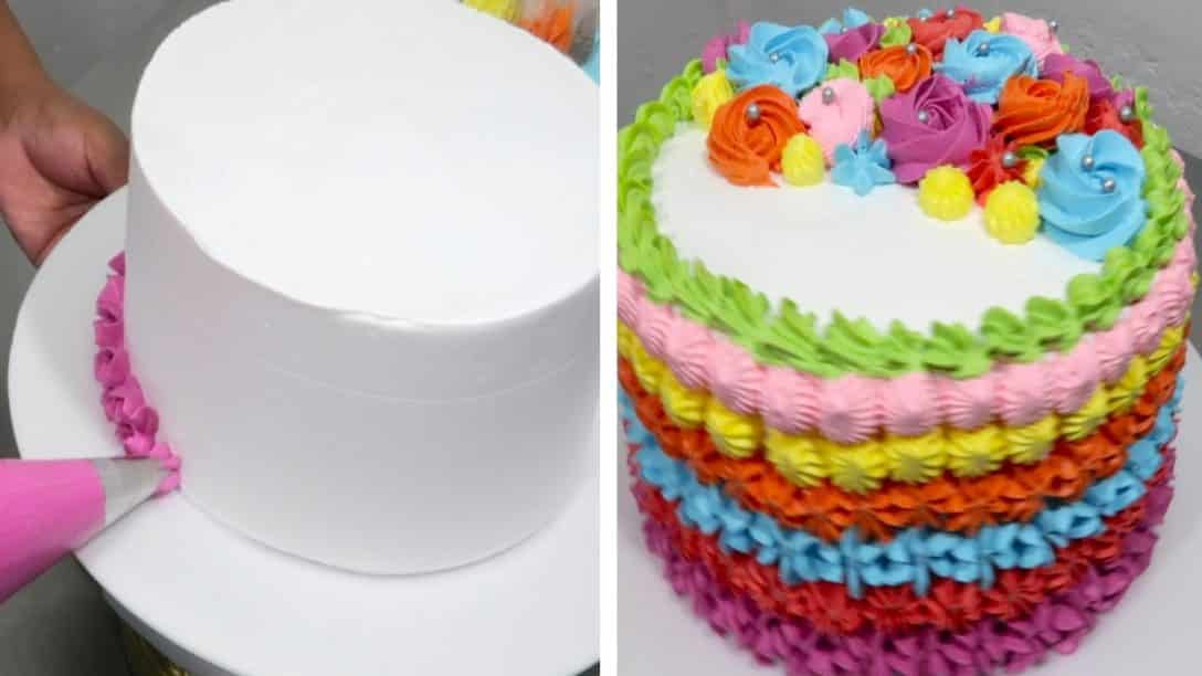 Easy cake decorating ideas for birthday |...