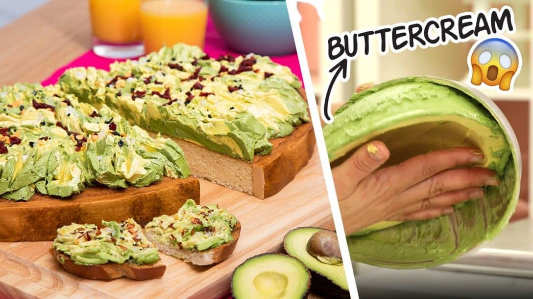 GIANT Avocado Toast... But It's CAKE |...