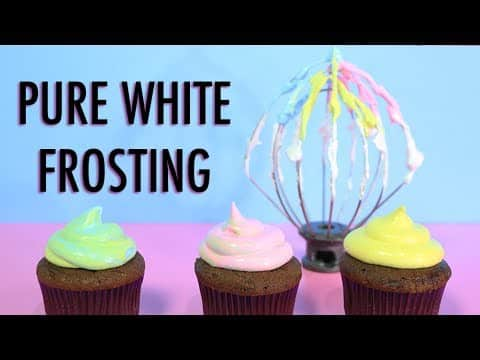 PURE WHITE FROSTING RECIPE How to make 7...