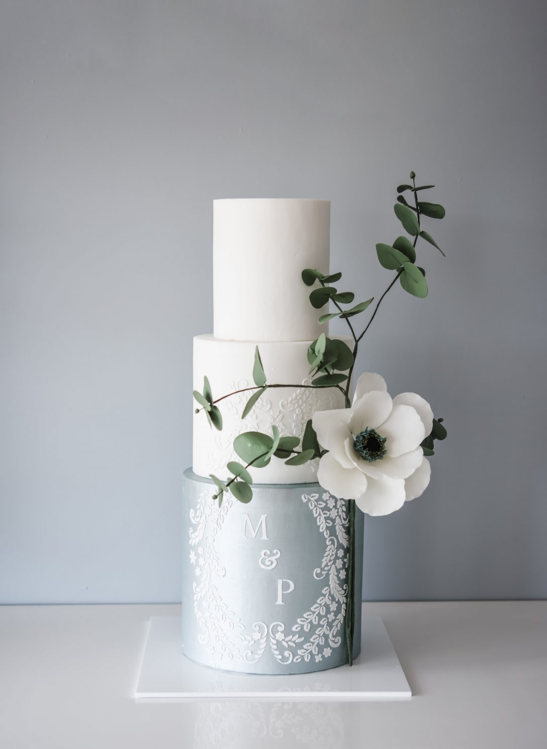 Anemone and Eucalyptus