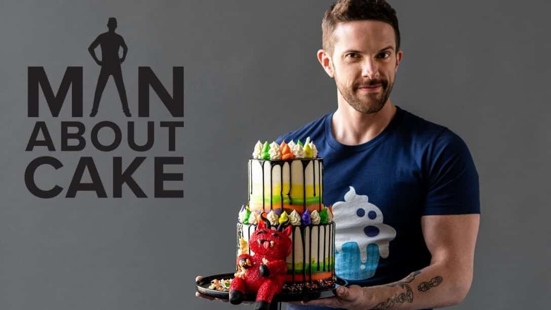 Bloated Monster Rainbow Cake | Man About Cake...