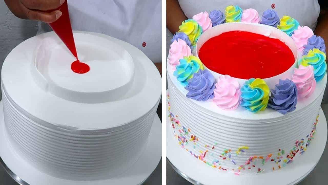 Como hacer una torta de cumpleaños facil y...