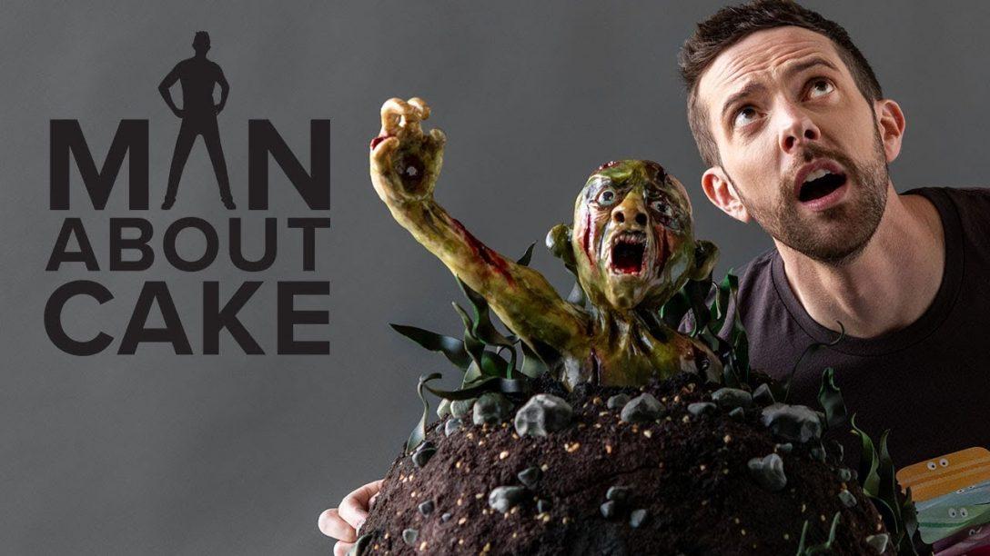 Creepy Chocolate Zombie Cake | Man About Cake...