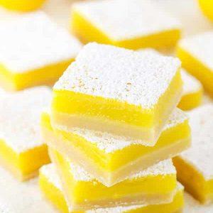 Collage of Easy Lemon Bars