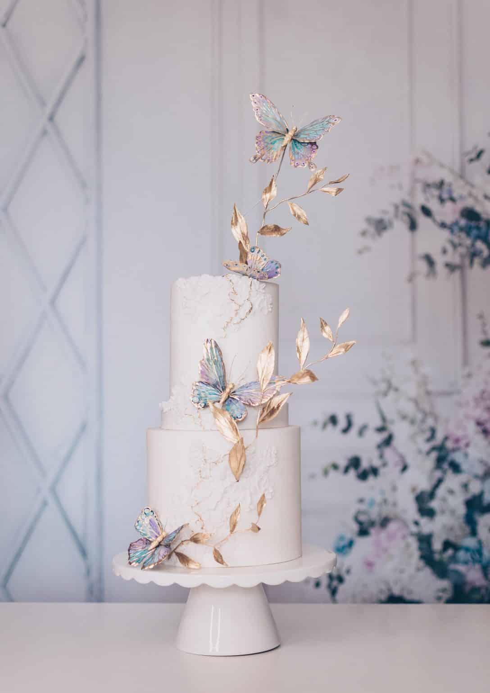 Elegant Butterflies Template