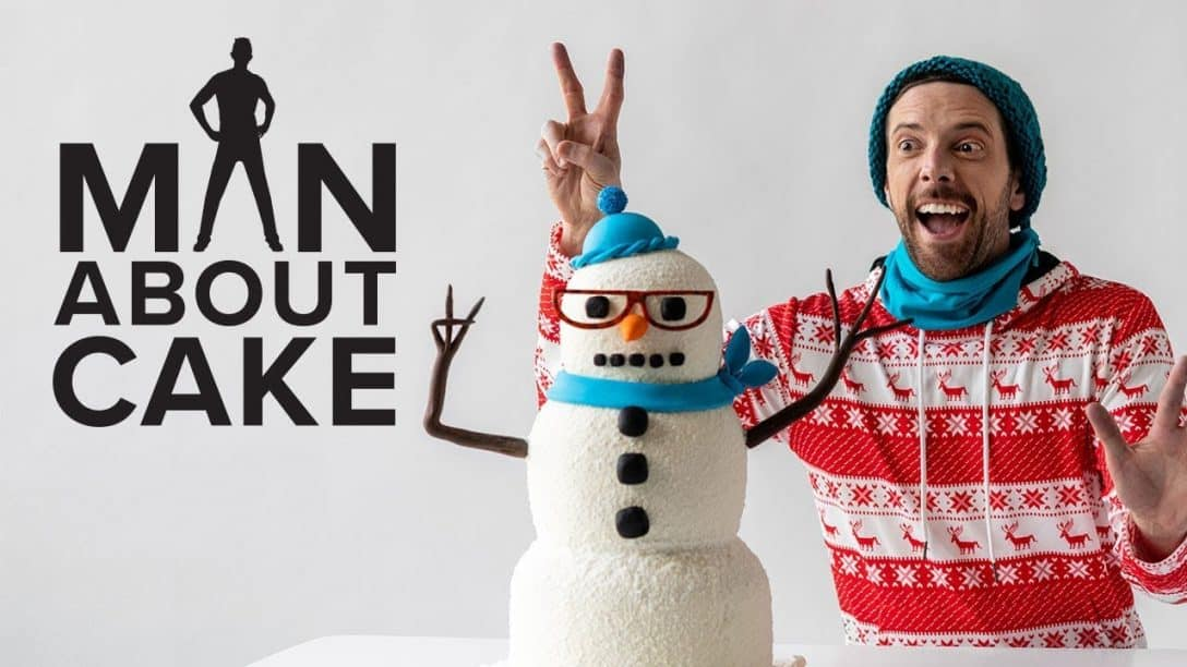 Hipster Snowman Cake  Man About Cake with...