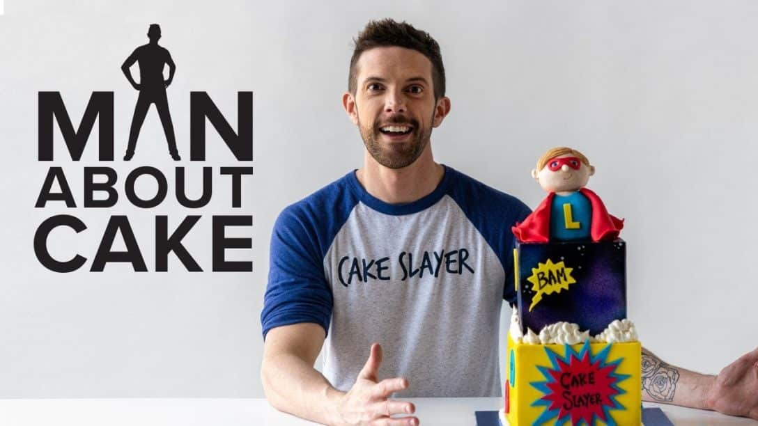 The Future Cake Slayer! Superhero Birthday...