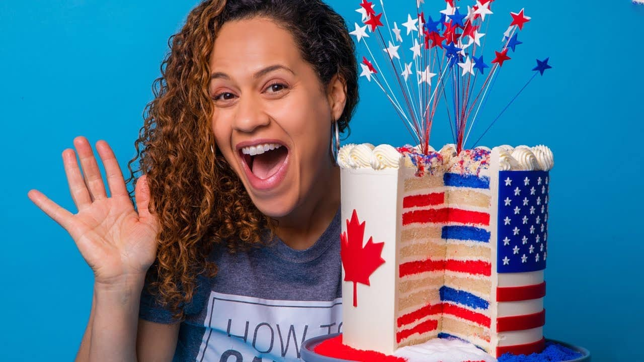 This Fireworks Cake EXPLODES! | How To Cake...