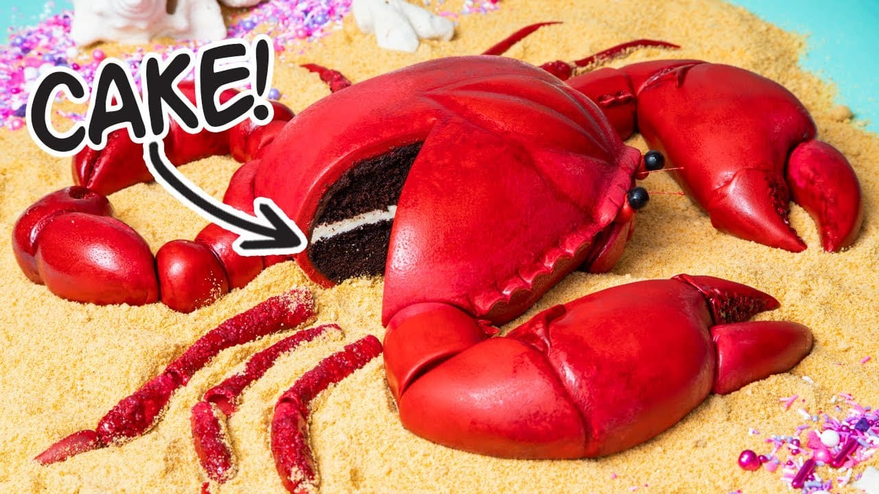 This Giant Crab Is A CAKE! | How To Cake It...