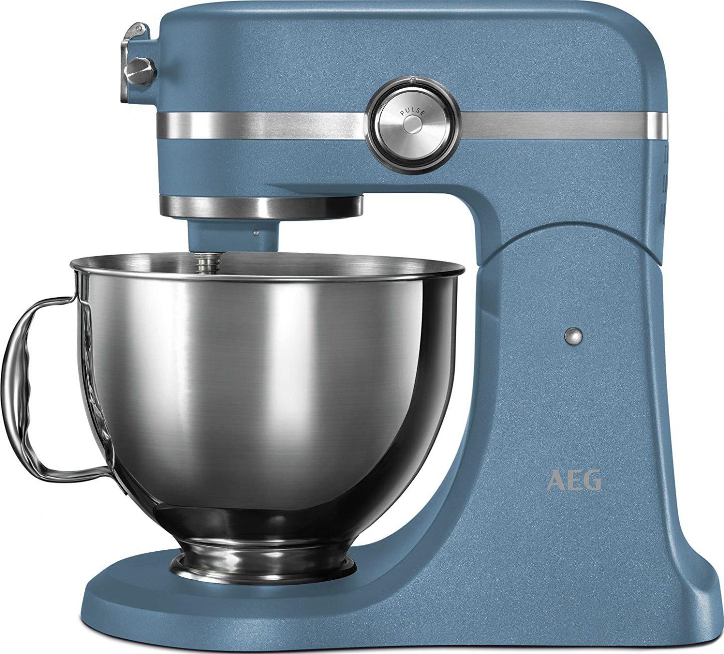 AEG KM5560-U UltraMix Stand Mixer - Sterling Blue