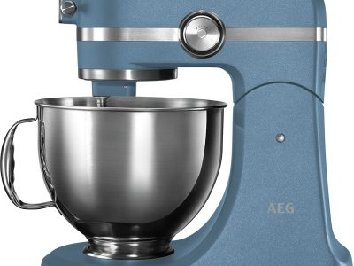 AEG KM5560-U UltraMix Stand Mixer - Sterling Blue