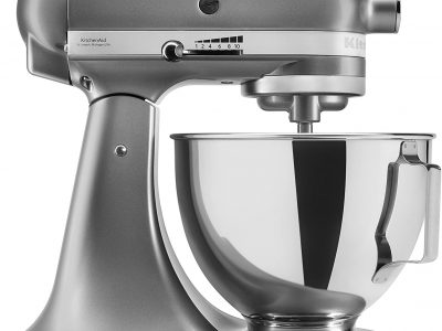 KitchenAid UK 5KSM95PSBCU Stand Mixer - Silver