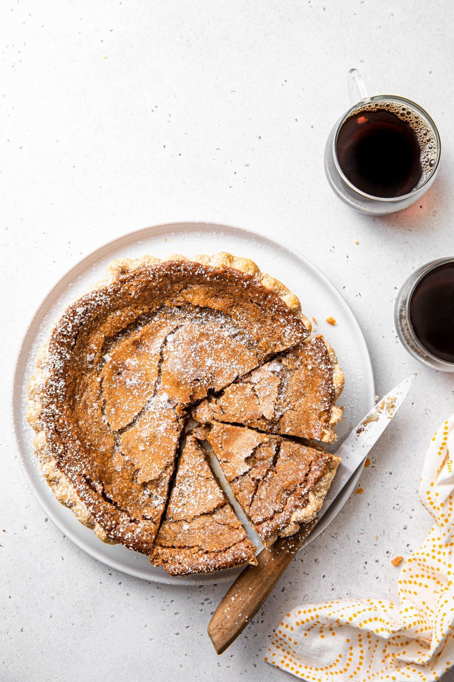 Maple Sugar Pie Recipe