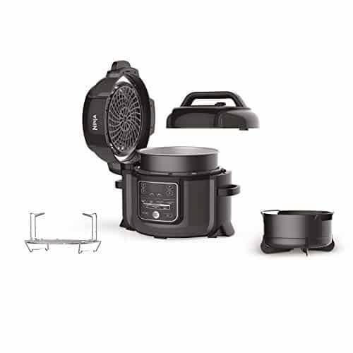 Ninja Foodi Electric Multi Cooker OP300UK Pressure Cooker and Air Fryer Grey and Black 0 0