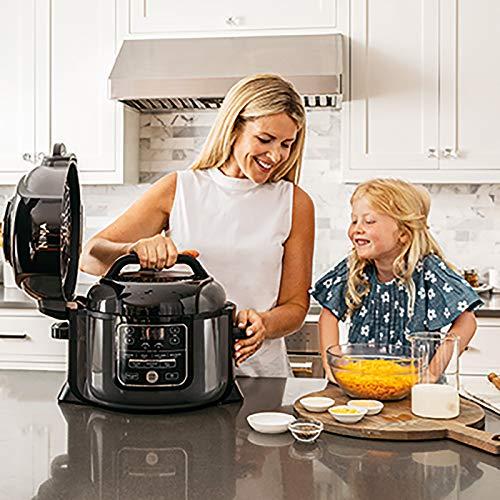Ninja Foodi Electric Multi Cooker OP300UK Pressure Cooker and Air Fryer Grey and Black 0 2