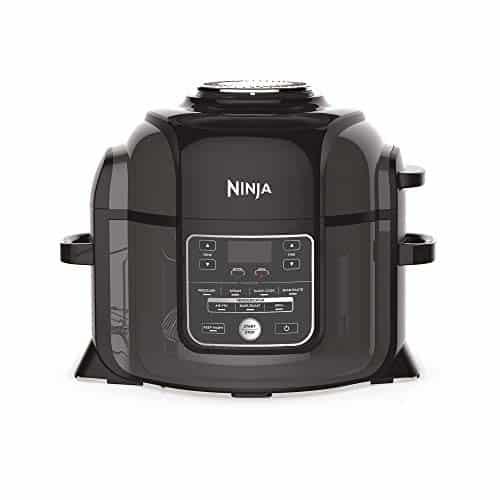 Ninja Foodi Electric Multi Cooker OP300UK Pressure Cooker and Air Fryer Grey and Black 0