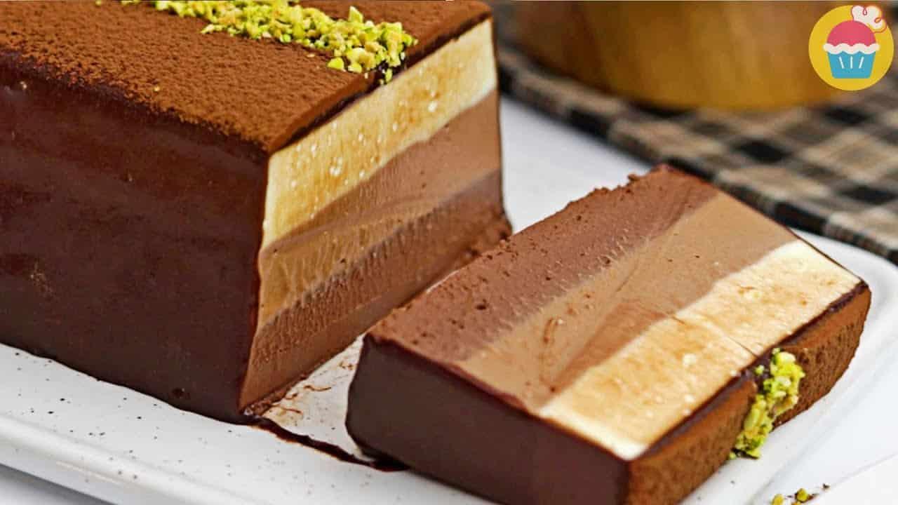 No Bake Chocolate Cheesecake - Amazing Triple...