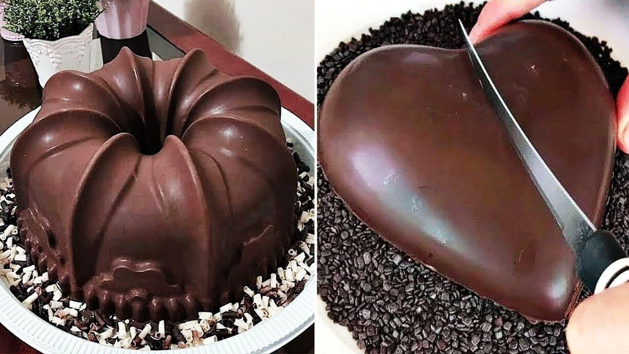 Nyam Nyam Oreo Chocolate Cake Desserts |...