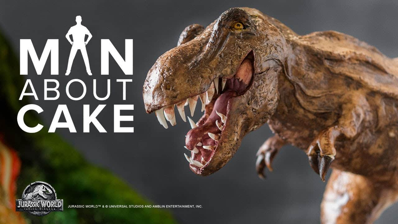 Epic Dinosaur Cake for JURASSIC WORLD: FALLEN...