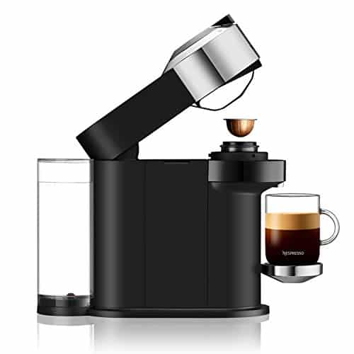 Nespresso Vertuo Next Deluxe By Magimix Coffee Capsule Machine With Aeroccino Milk Frother Chrome 11713 0 0