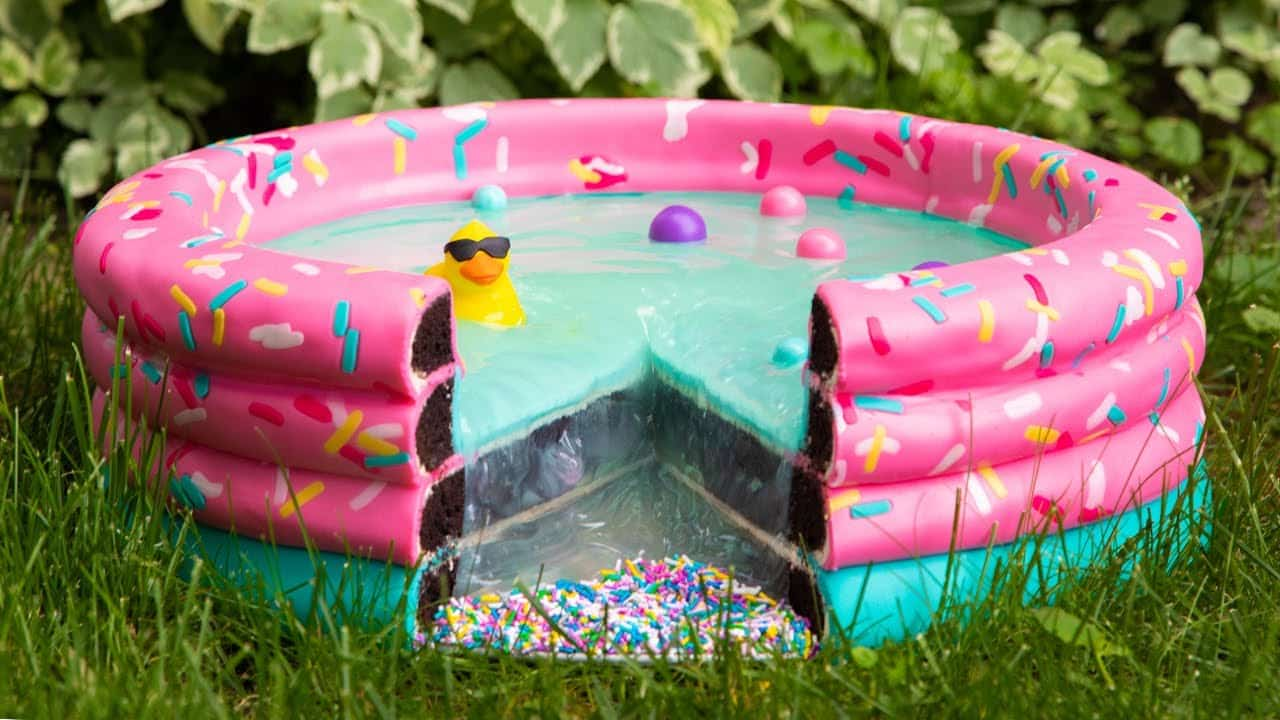 Swimming Pool... CAKE?! | Everything Is Cake...
