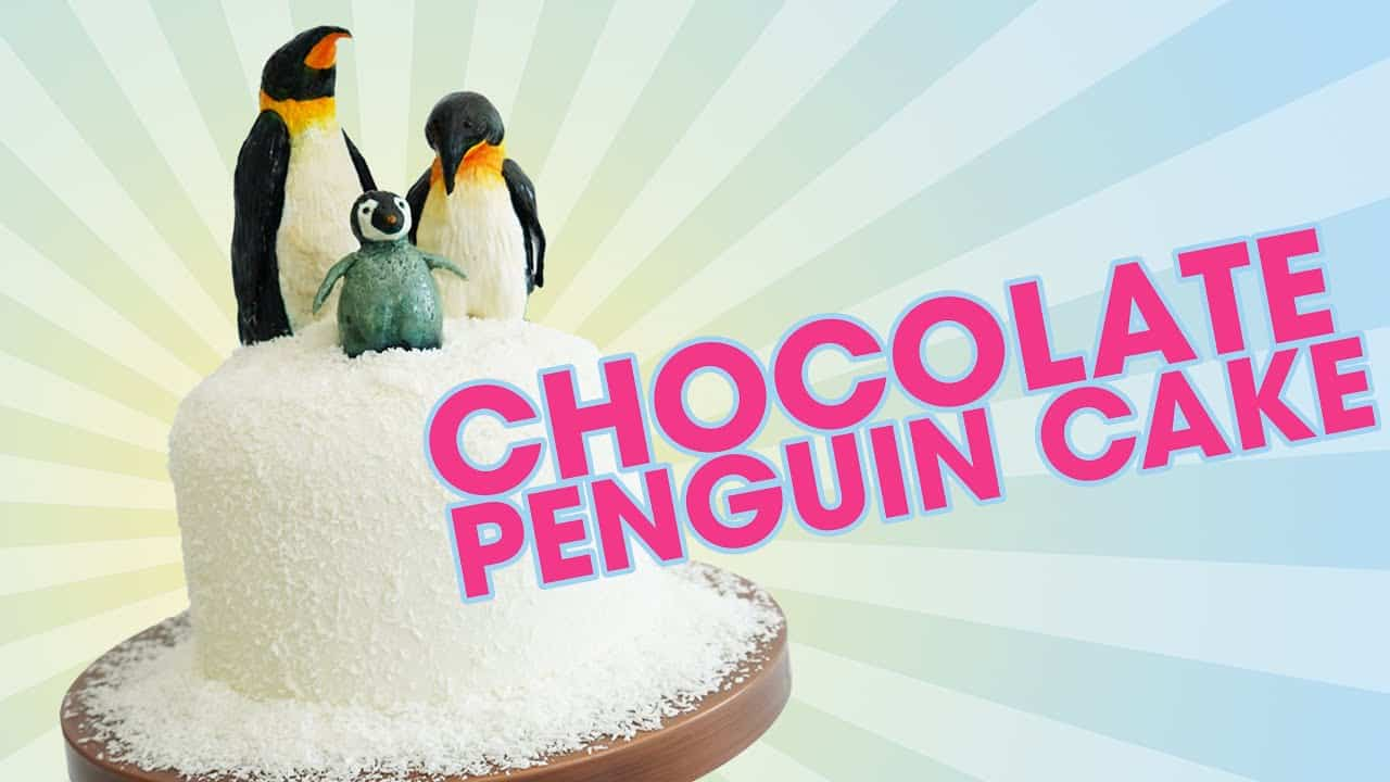 Chocolate Penguin Cake