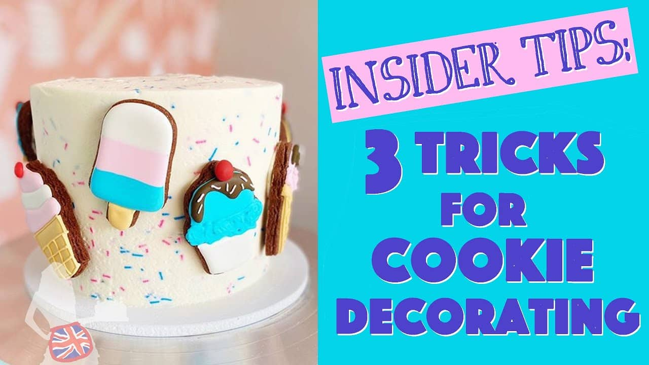 3 Tricks For Cookie Decorating | British Girl Bakes at Sweet...