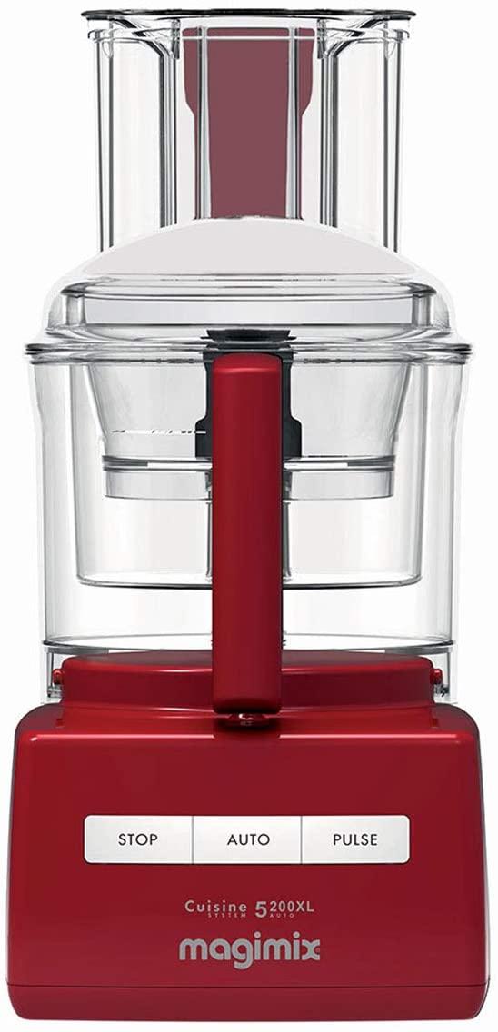 Magimix 5200XL Premium Food Processor - Red
