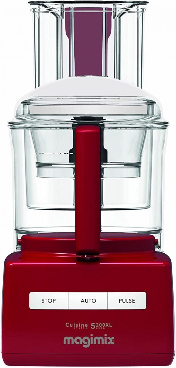 Magimix 5200XL Food Processor, Red