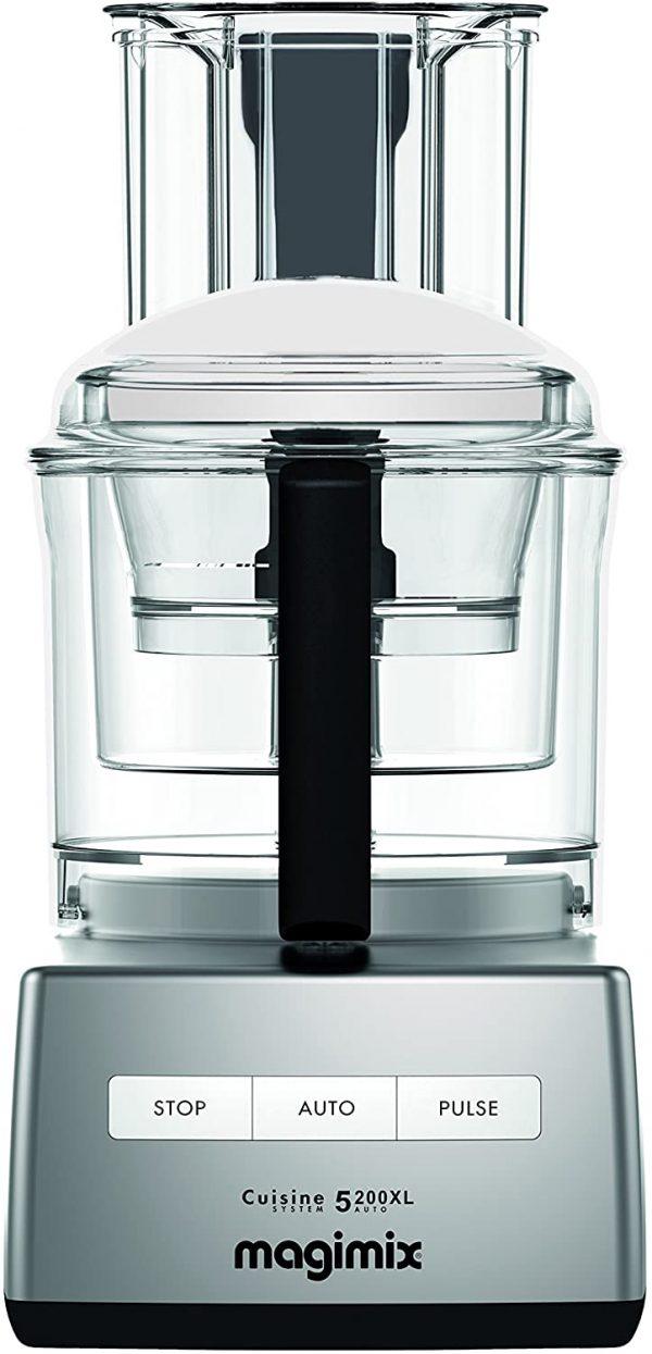 Magimix 18591 5200XL Food Processor, BPA-Free, 1100 W, Satin