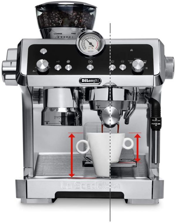DeLonghi La Specialista Coffee Machine 18