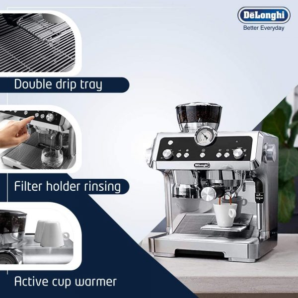 DeLonghi La Specialista Coffee Machine 4