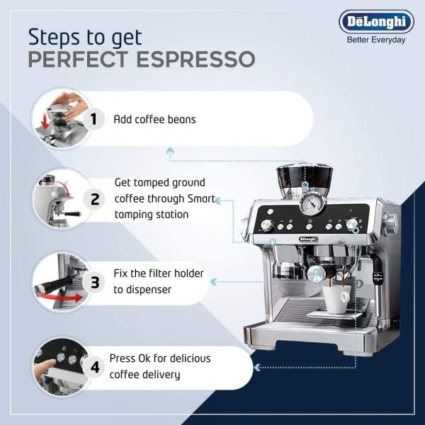 DeLonghi La Specialista Coffee Machine 5